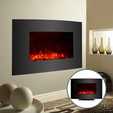 adjustable large 1500w electric fireplace heater wall mount