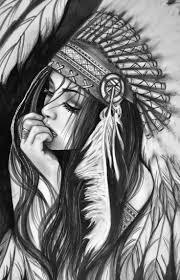 american indian pencil drawing drawings pinterest american