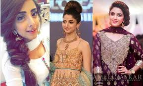 hair steila simpl is pakistan latest hairstyles trend of pakistani actresses and models 2017 18