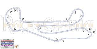 miata drawing racing line map at barber motorsports park