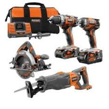home depot black friday rigid drill ridgid 18 volt lithium ion ultimate contractor kit 12 piece