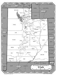 Utah Counties Map Counties Carbon Homework Help