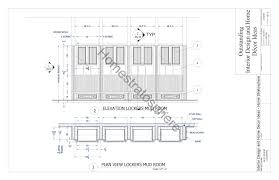 mud room dimensions free mudroom locker plan with storage bench pdf blueprint