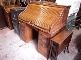 corbin cabinet lock co a 4 2 oak double pedestal roll top desk by corbin cabinet lock co
