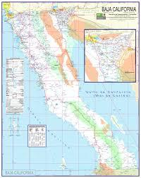 california map detailed baja california map playa la costilla mexico mappery
