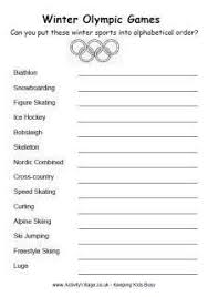 olympic games for kids