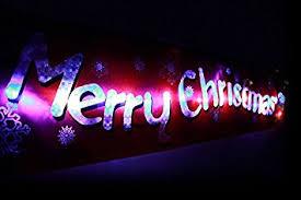 Christmas Window Decorations Amazon by Flashing Led Merry Christmas Fairy Lights Xmas Hanging Window
