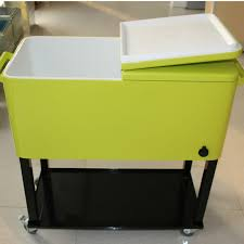 Patio Ice Cooler by Patio Outdoor Ice Cool Cart Metal Rolling Cooler Feed Cooler Buy