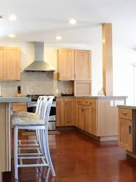 coordinating wood floor with wood cabinets maple cabinets houzz