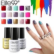 elite99 7ml gel nail polish 58 color uv nails long lasting nail