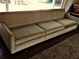 mid century couch living room midcentury with artwork atlanta