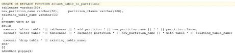 Alter Table Add Partition Postgres And Postgres Plus Tips And Tricks Easy Way To Attach A
