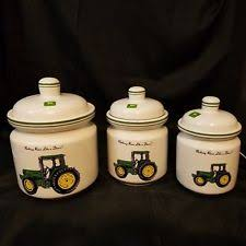 deere kitchen canisters deere canisters ebay