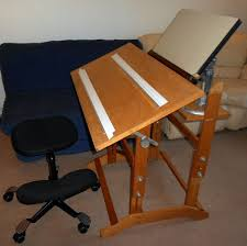 Inexpensive Drafting Table Drafting Table Ikea We Made A Concealed Puzzle Table From The