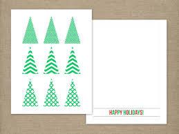 printable christmas cards to make handmade christmas tree card hgtv