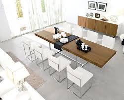 extendable modern dining table u2013 rhawker design