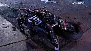 5 injured 2 critically in violent westwood crash abc7 com