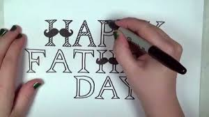 happy father u0027s day card drawing lesson cc youtube