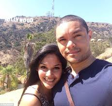 Interracial Vacation Sex Stories - trevor noah s girlfriend left in south africa as he heads to the