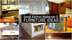 furniture for small kitchens 20 small kitchen makeover and furniture ideas