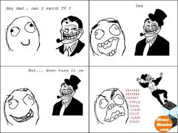 Troll Dad Meme - image troll dad meme watching tv png friend making wiki fandom