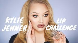 Challenge Tutorial Jenner Lip Challenge Nikkietutorials
