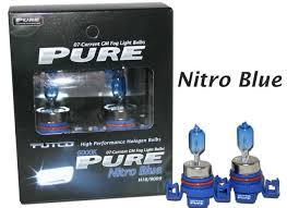 Putco Lights Putco Pure Nitro Blue Gm Fog Light Bulbs H16 5202 9009 Part