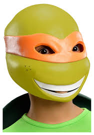 Michelangelo Halloween Costume Child Tmnt Michelangelo 3 4 Mask