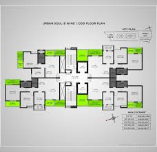 Mandir Floor Plan by Urban Soul Kharadi Pune Residential Project Propertywala Com