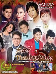 thanksgiving show free sandia resort casino