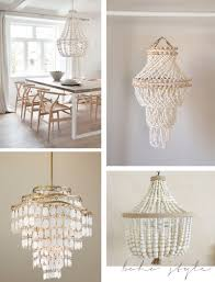 How To Decorate A Chandelier With Beads Decorations Stunning Creations Seashell Chandelier For Your Home