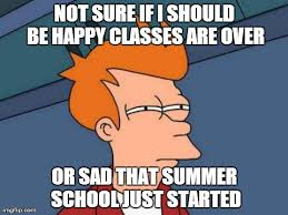 Summer School Meme - what to do with 500ish days of summer college magazine