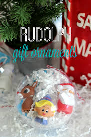 rudolph gift ornaments gluesticks