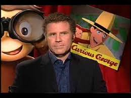 ferrell drew barrymore interview curious george
