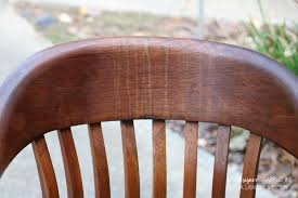 How To Refinish Kitchen Chairs How To Refinish Wood Chairs The Easy Way Designertrapped Com