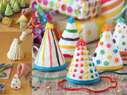crafting hat cakes for a birthday party pictures photos and