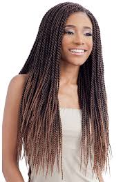 senegalese twist hair brand model glance crochet braid senegalese twist small