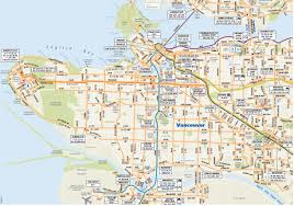 Seattle Bus Route Map by Vancouver The Almost Perfect Grid U2014 Human Transit