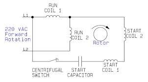 reversing single phase motor wiring diagram gooddy org
