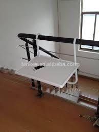 folding deck table handy drinks holder porch balcony rail pool