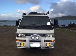 mitsubishi delica camper my
