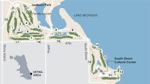 Lake Michigan Beaches Map by Chicago U0027s Proposed Tiger Woods Designed Golf Course To Emphasize