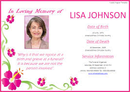 funeral invitation template free 11 funeral invitation templateagenda template sle agenda