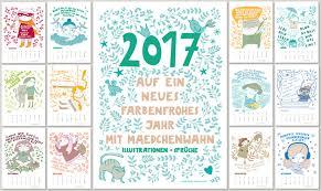 sprüche kalender kalender wand kalender 2017 illustrationen sprüche a4 ein
