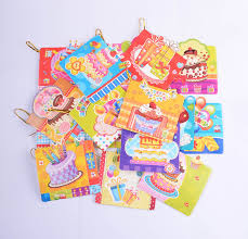 blessing cards 16pcs set different styles of birthday blessing card happy
