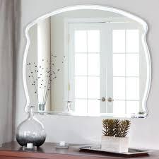 frameless bathroom mirrors
