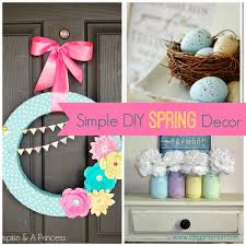 Spring Decoration by Simple Diy Spring Decor Ideas I Dig Pinterest Idolza