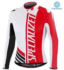 thermal cycling jacket sped pro team szk white red thermal long sleeve cycling jersey and