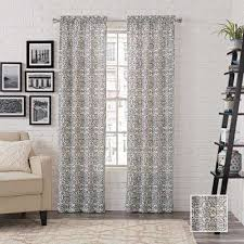 Charcoal Drapes Clear Curtains U0026 Drapes Window Treatments The Home Depot