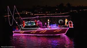huntington harbor cruise of lights where to find the holiday boat parades in orange county let s